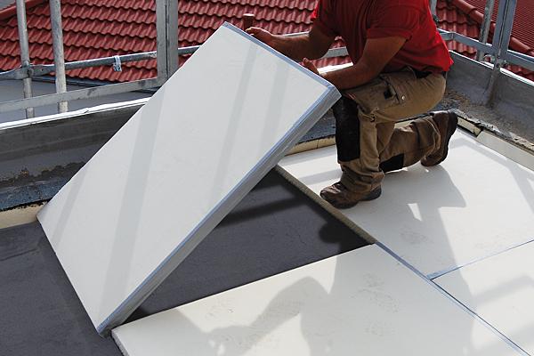 Isolamento termico terrazzo di copertura