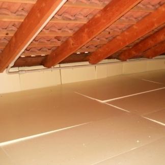 Pannelli termoisolanti calpestabili isolamento termico - Pannelli isolanti per sottotetto ...